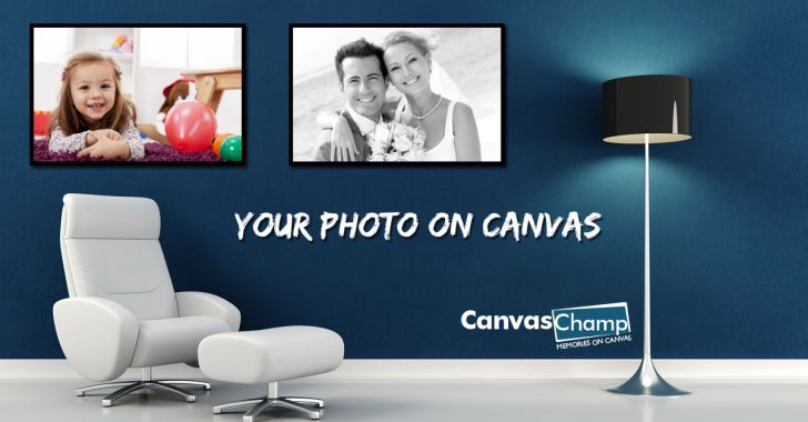 Putting you Photos on Canvas