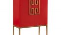 Luxe Red Dahlia Cabinet