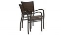 Aire outdoor dining arm chair