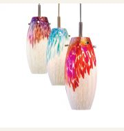 Nora Lighting LED Decorative Glass Pendants