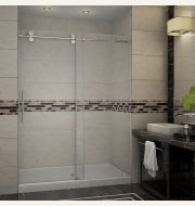 Aston Langham Completely Frameless Sliding Shower Door & Enclosure Collection