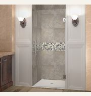 Aston Cascadia Completely Frameless Single-Panel Alcove Shower Door