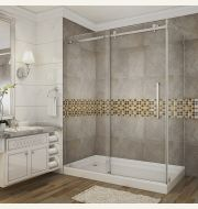 Aston Moselle Completely Frameless Sliding Shower Door & Enclosure Collection