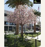 Cherry Blossom Tree with Fabricated Trunk