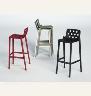 Isidoro Bar Stool and Isidora Side & Arm Chair Outdoor & Indoor