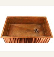 Heritage Copper Sink - Under Mount