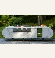 ASA-D2 Modular Outdoor Kitchen - by Brown Jordan Outdoor Kitchens