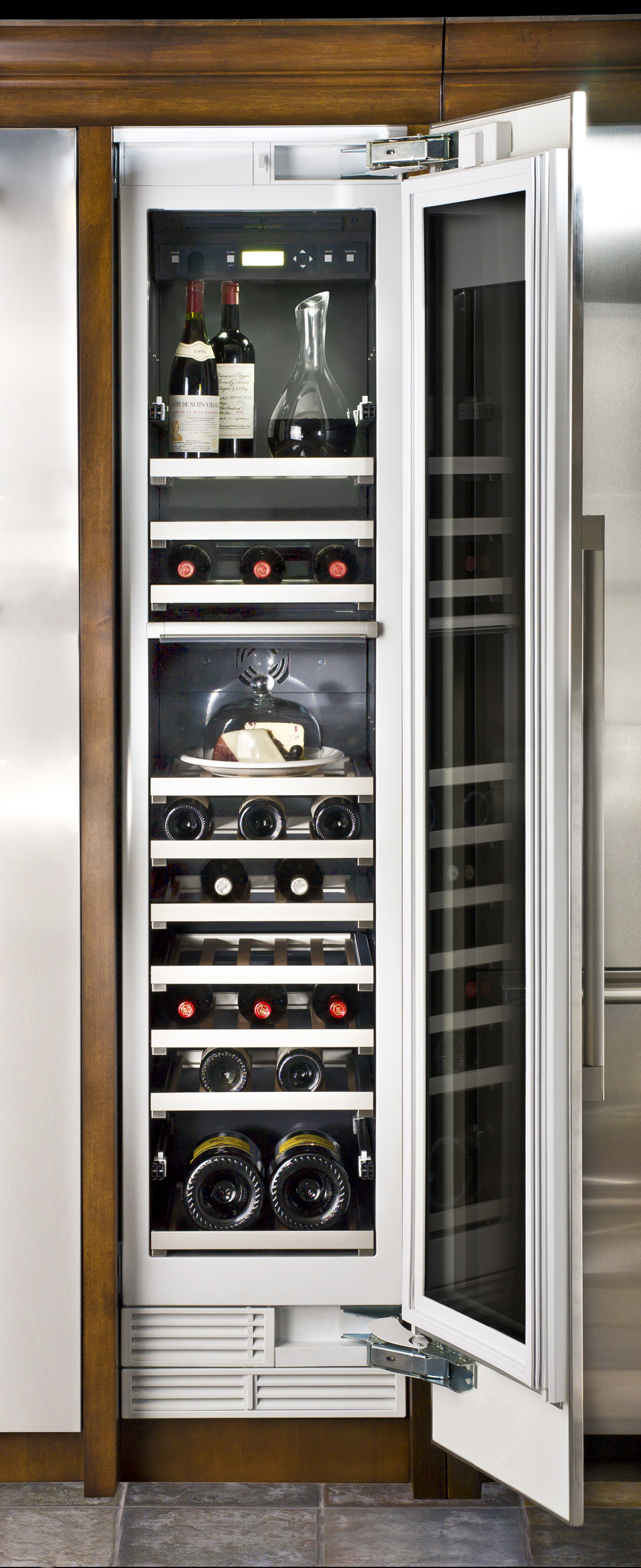 Adex Awards Design Journal Thermador Wine Cooler By Bsh