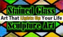 Stained Glass Sculpture Art
