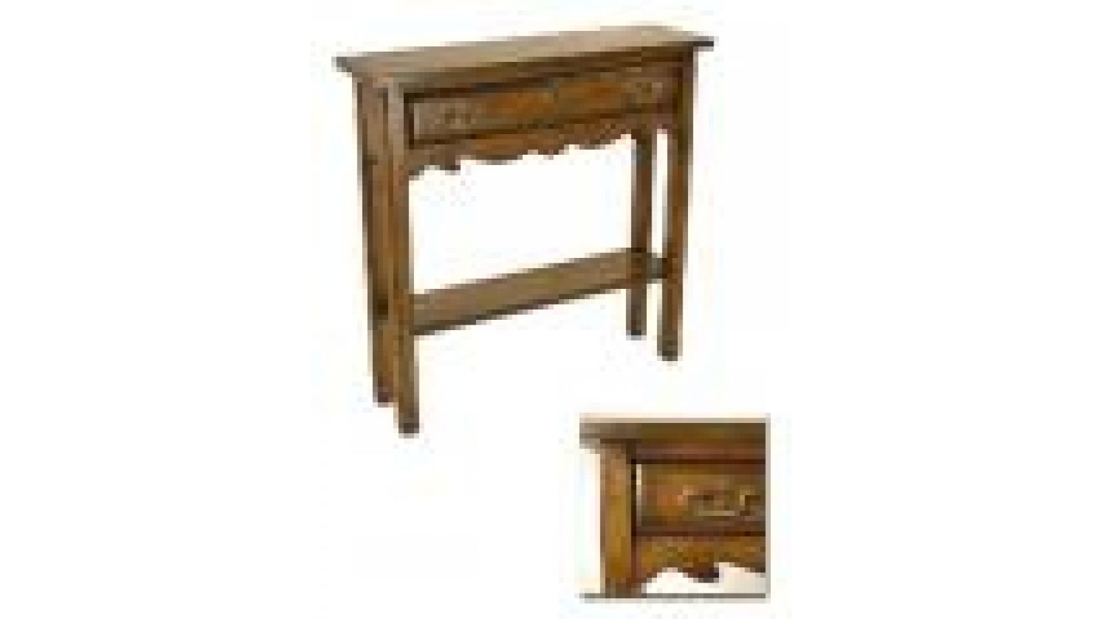 Mfg #: F-1078 SMALL CONSOLE TABLE