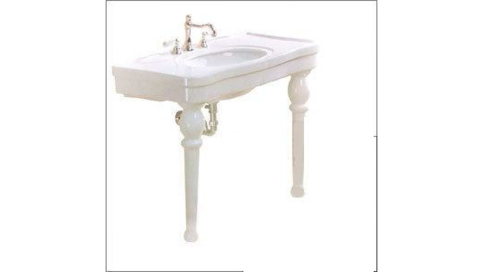 Belle Epoque Console Basin-Single