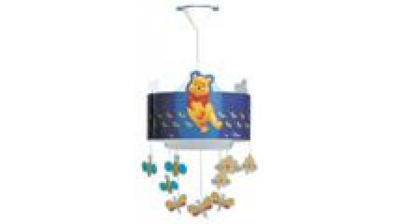 Winnie the Pooh Ceiling Lamp Blue
