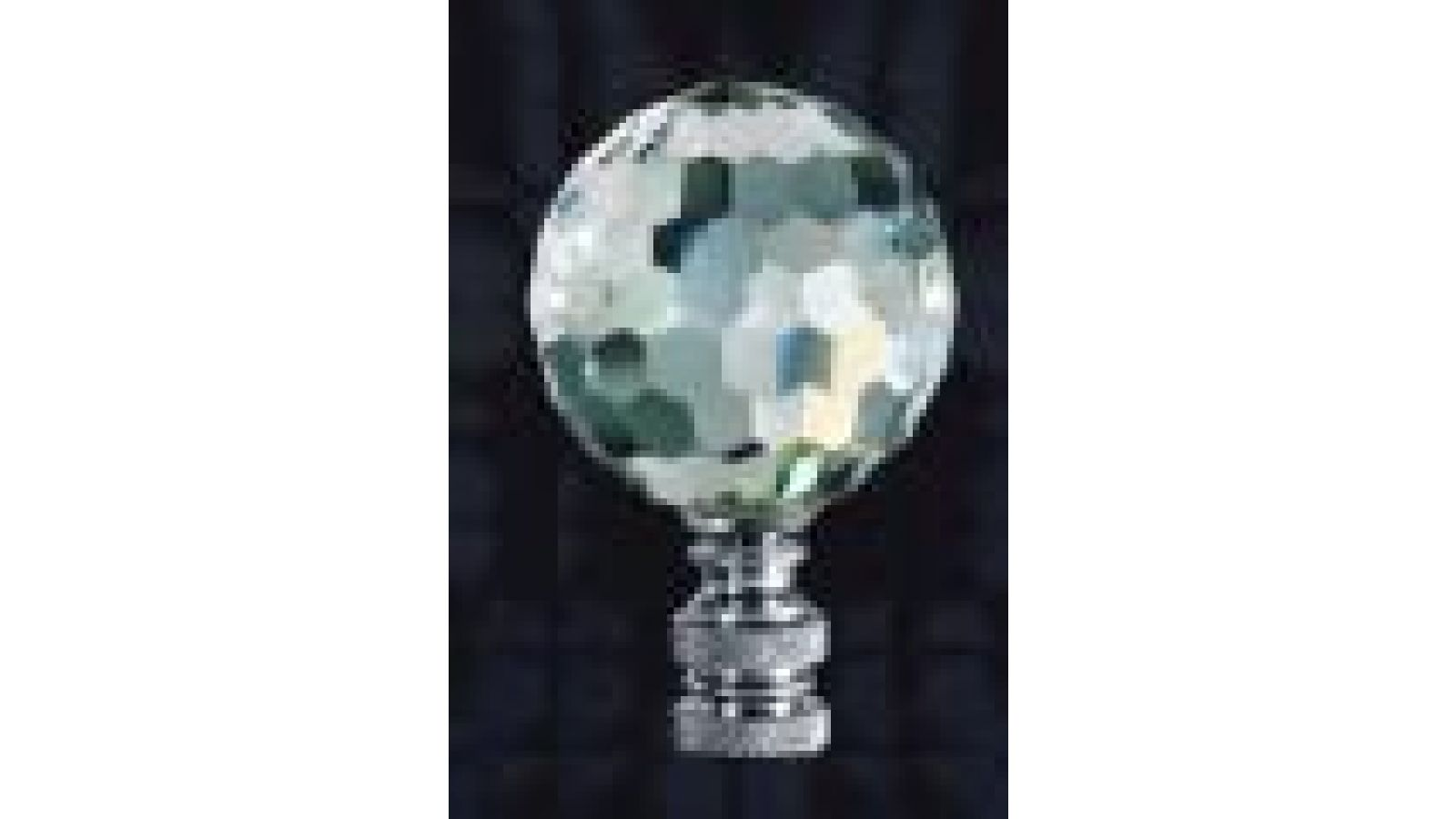 crystal ball table lamp finial