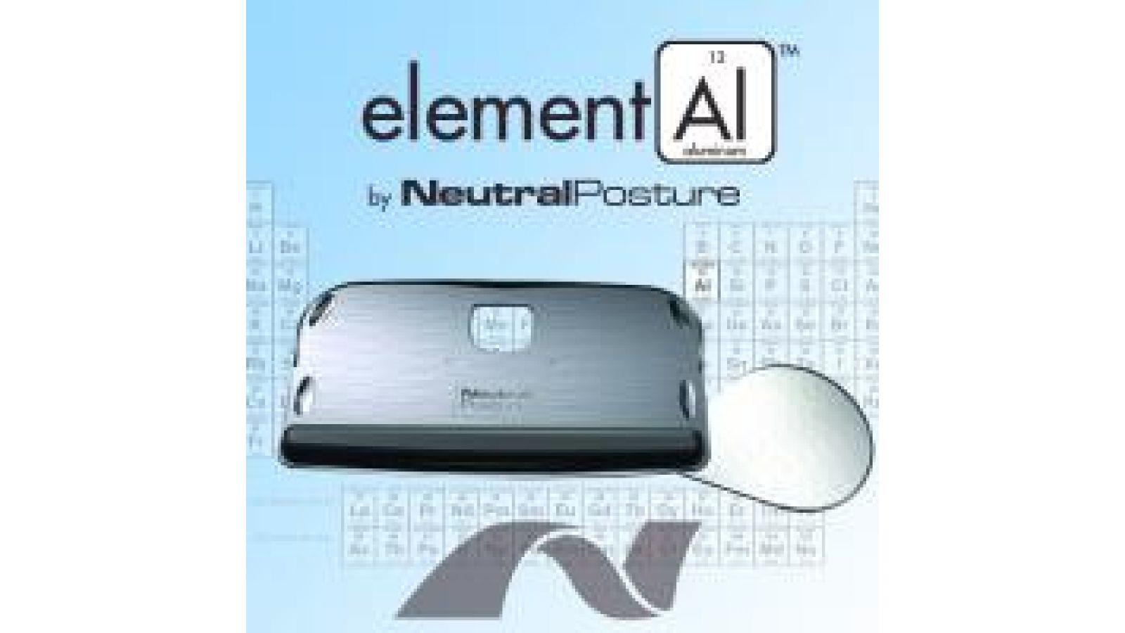elementAl Aluminum Keyboard Tray