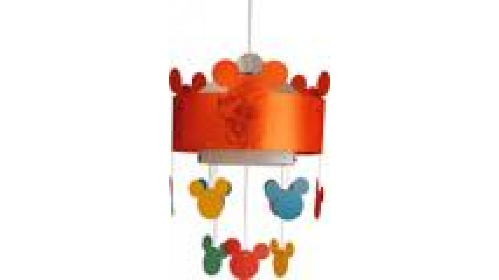 Mickey Mouse Ceiling Lamp New Orange