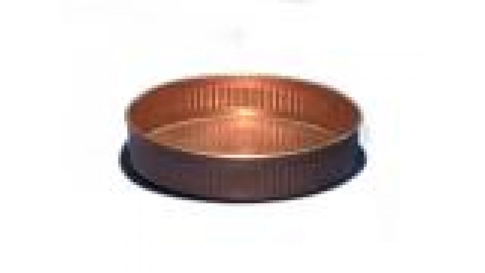 4  Copper Coaster, embossed wall