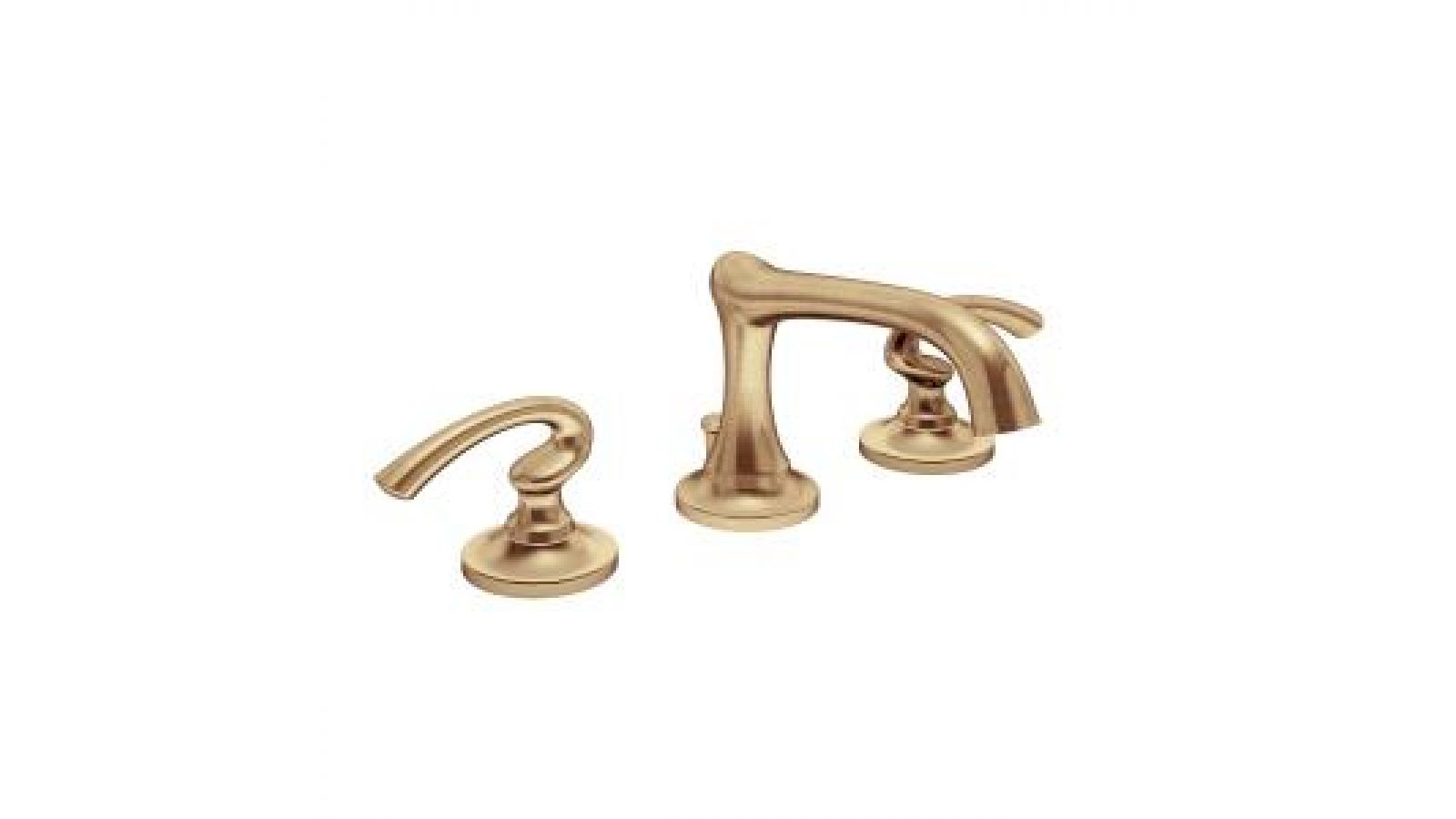 Ballina Bath Faucet in Brushed Bronze