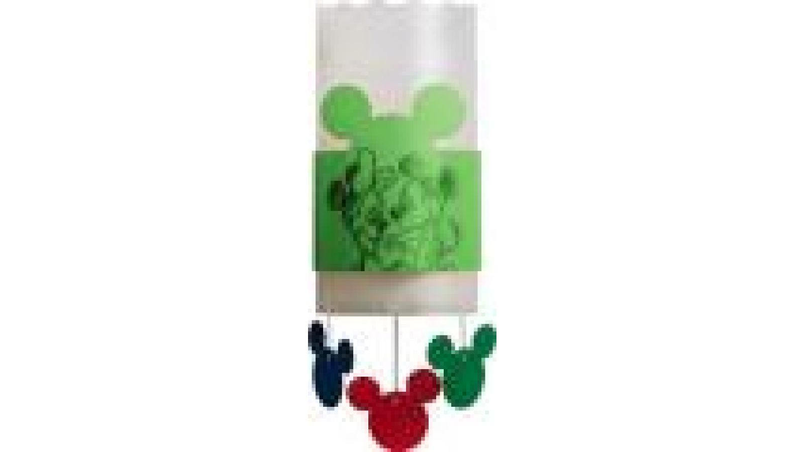 Mickey Mouse Wall Brackets New Green
