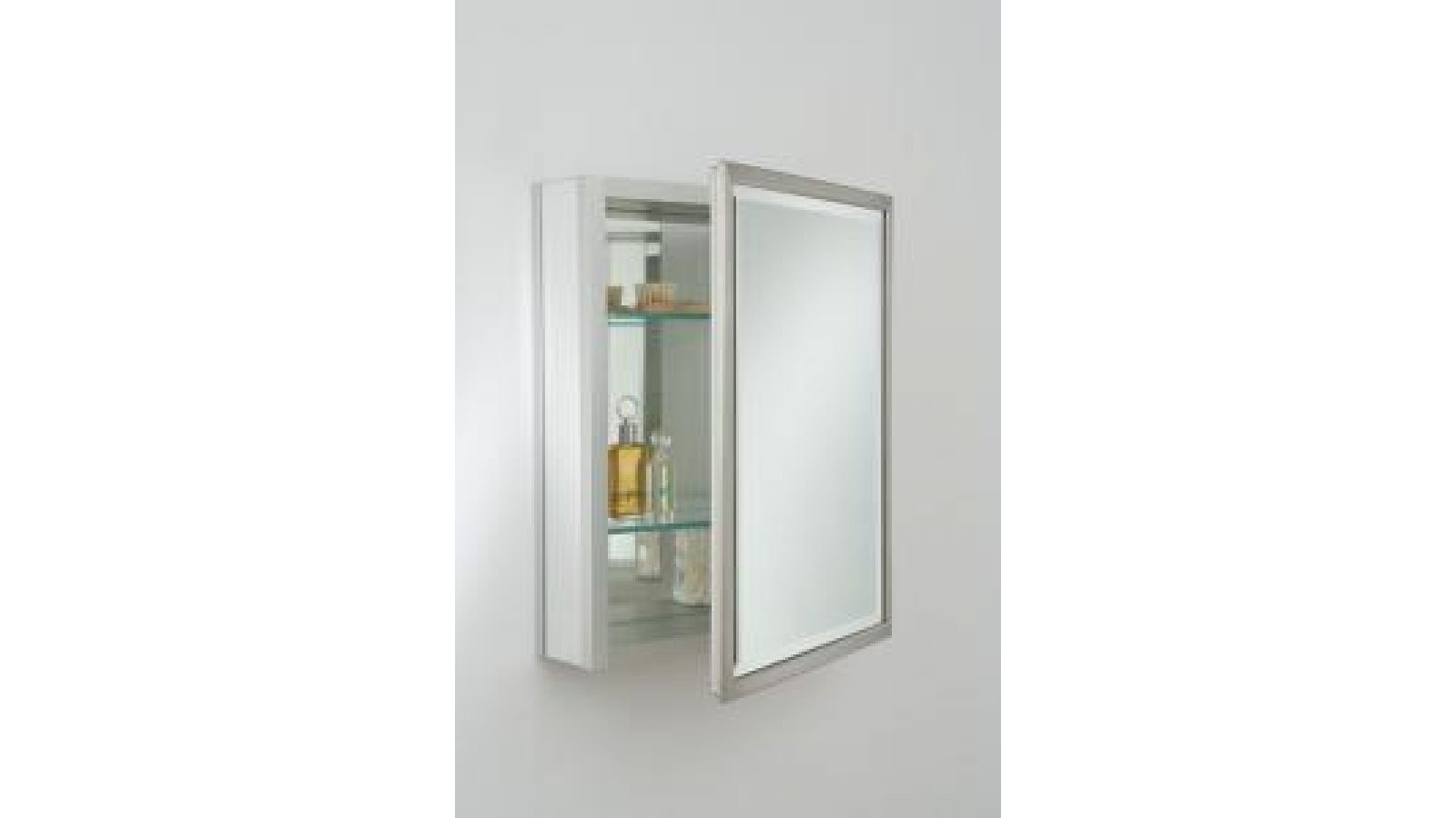 S Series Thin Metal Frame - Brushed Nickel Finish