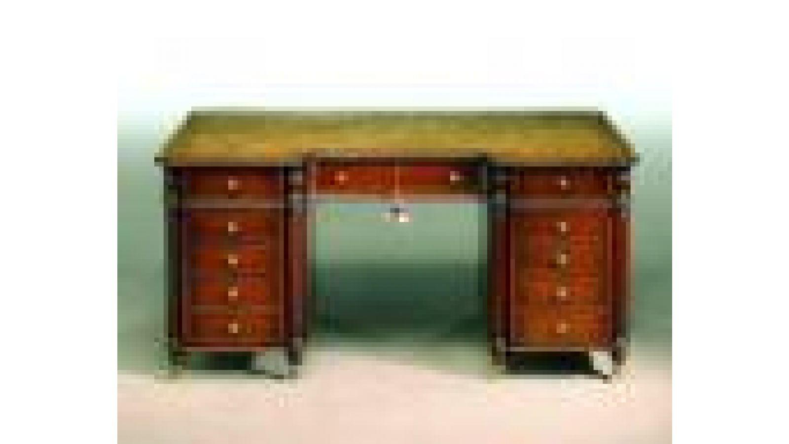 2390X - Gillows-style mahogany desk