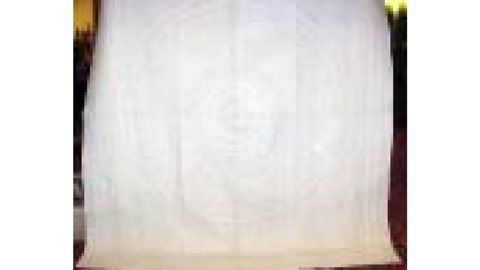 WHITEWORK WHOLECLOTH with pencil lines