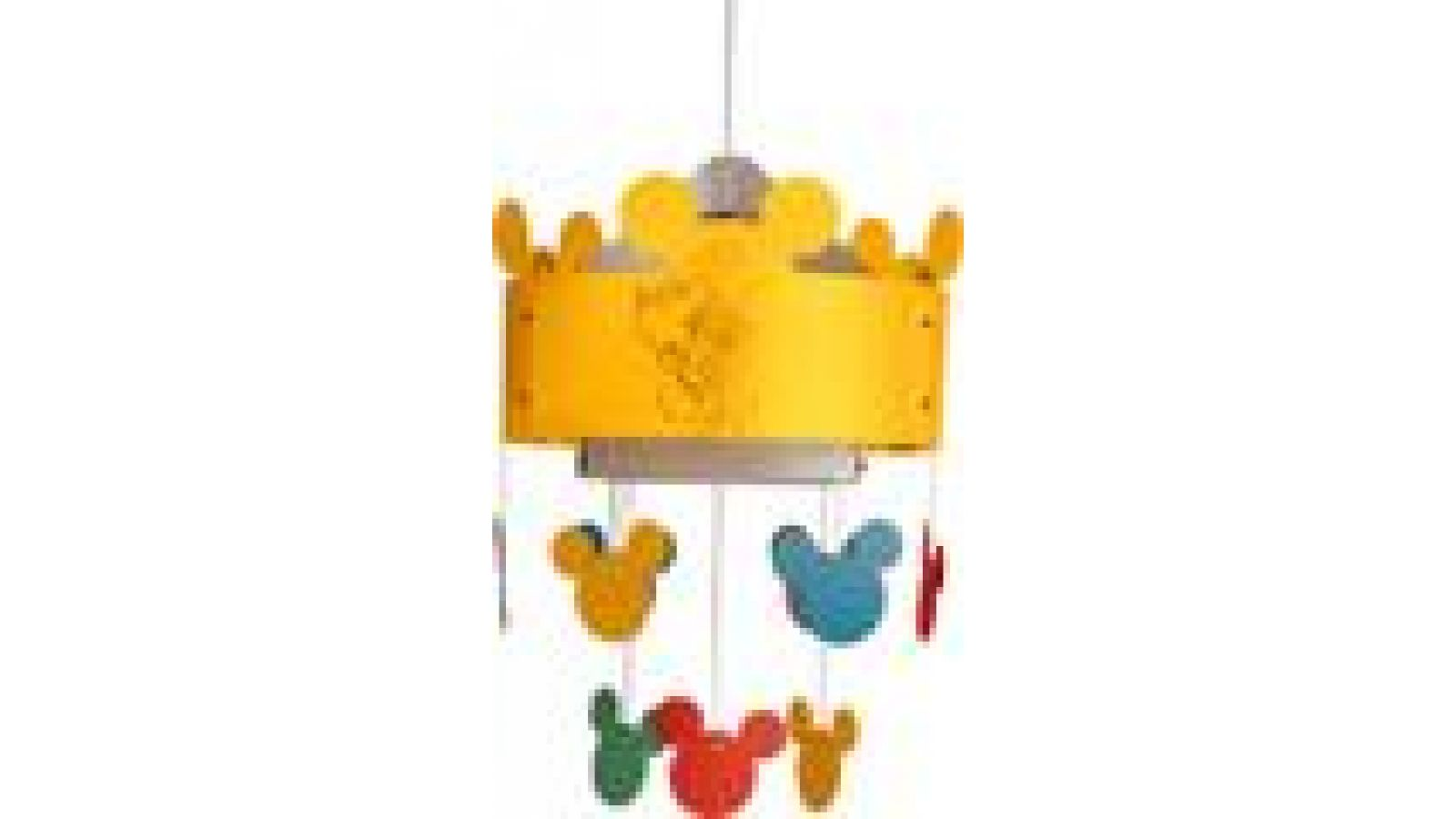 Mickey Mouse Ceiling Lamp Yellow
