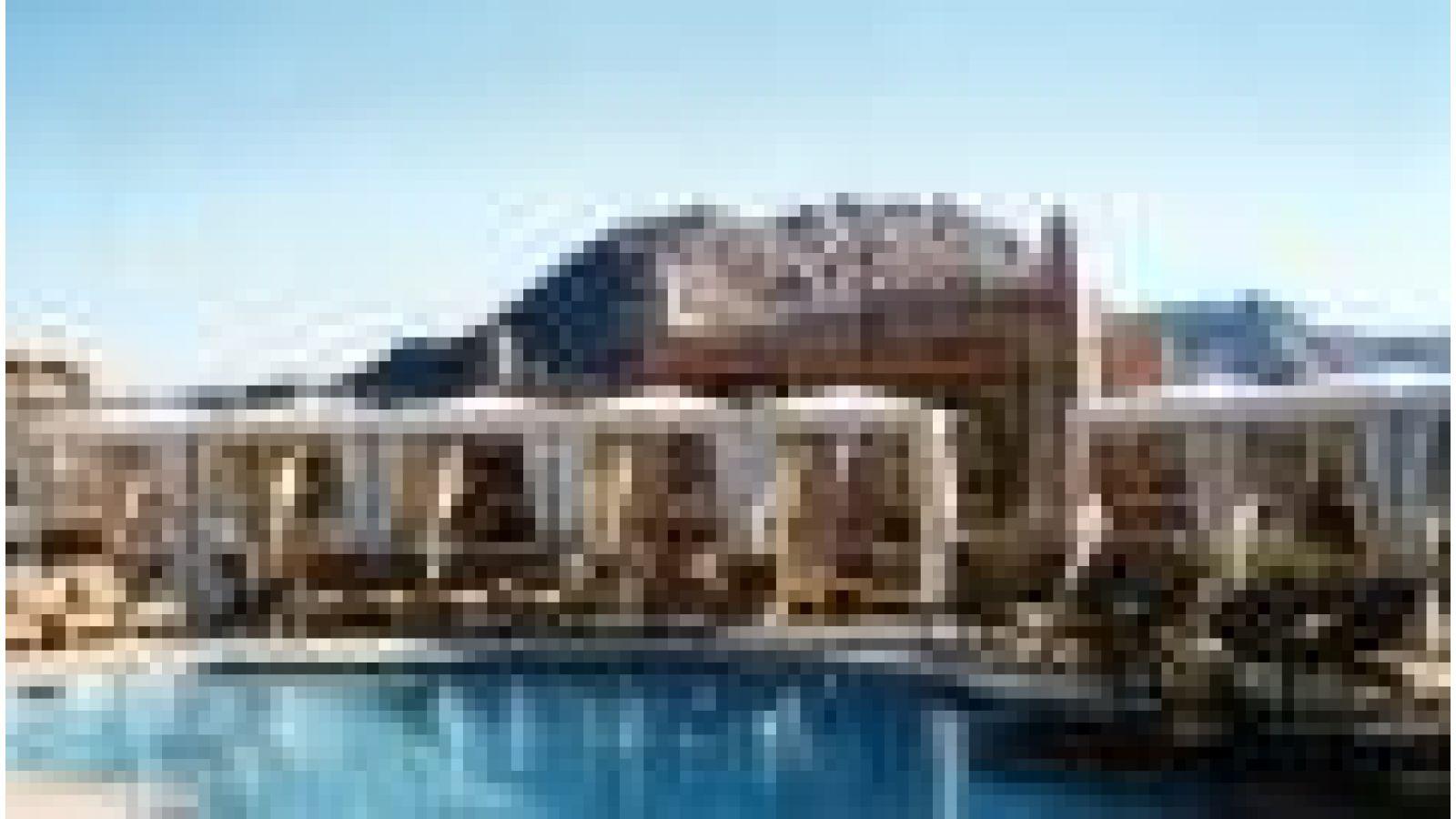 Resort cabanas