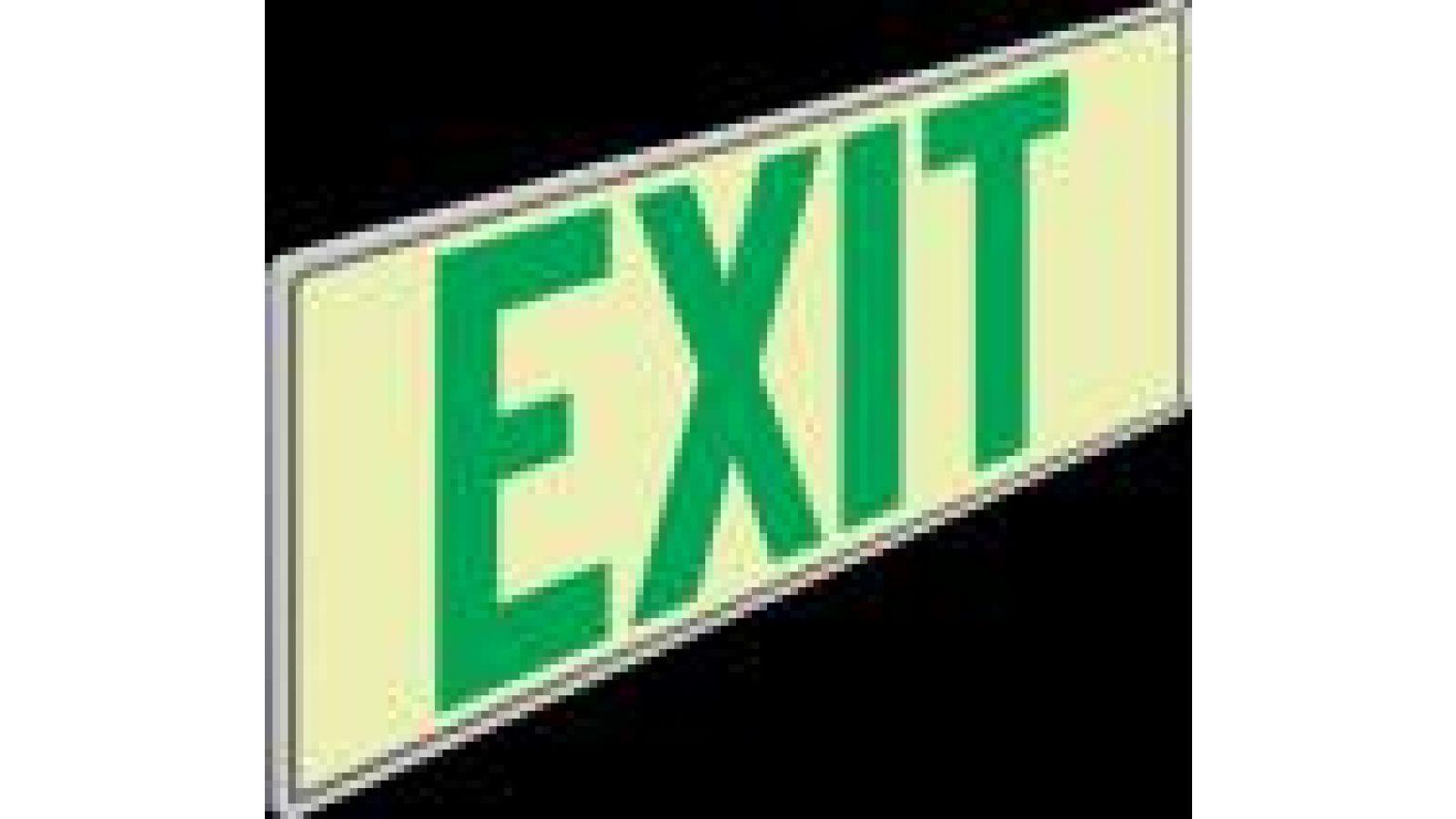 Series 18.000 - Door Kickplate Exit Marker