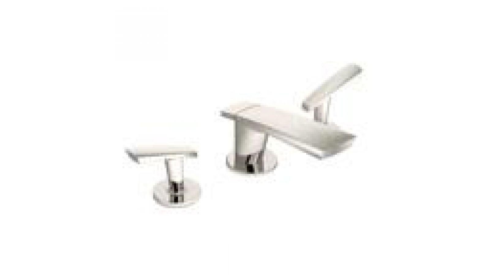 Naru Bath Faucet in Polished Nickel