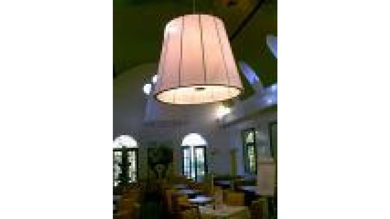 Cafe Lurcat lamps