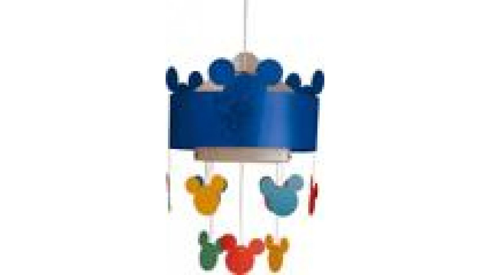 Mickey Mouse Ceiling Lamp Blue
