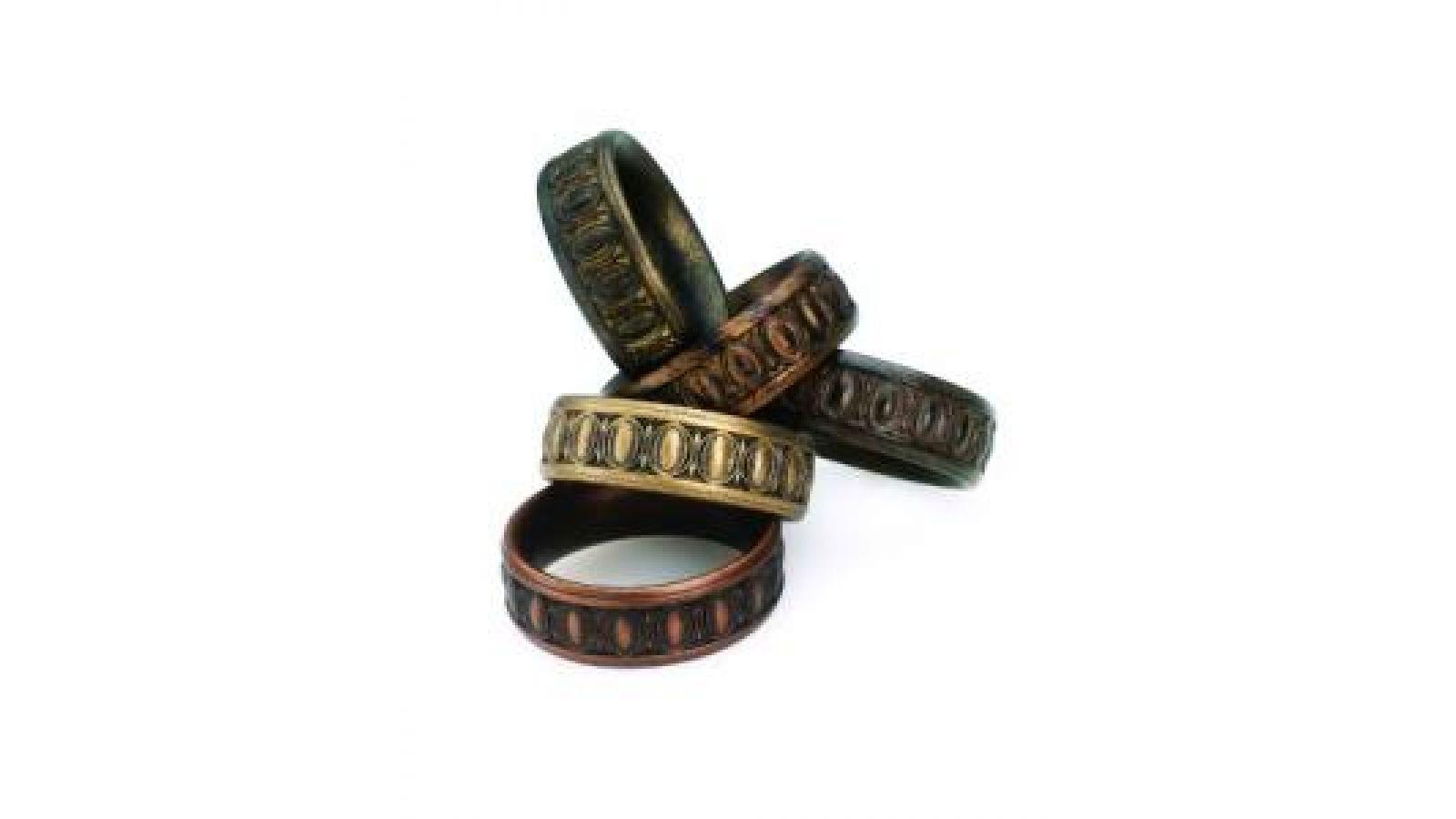 KIWood Trends2 Renaissance Rings
