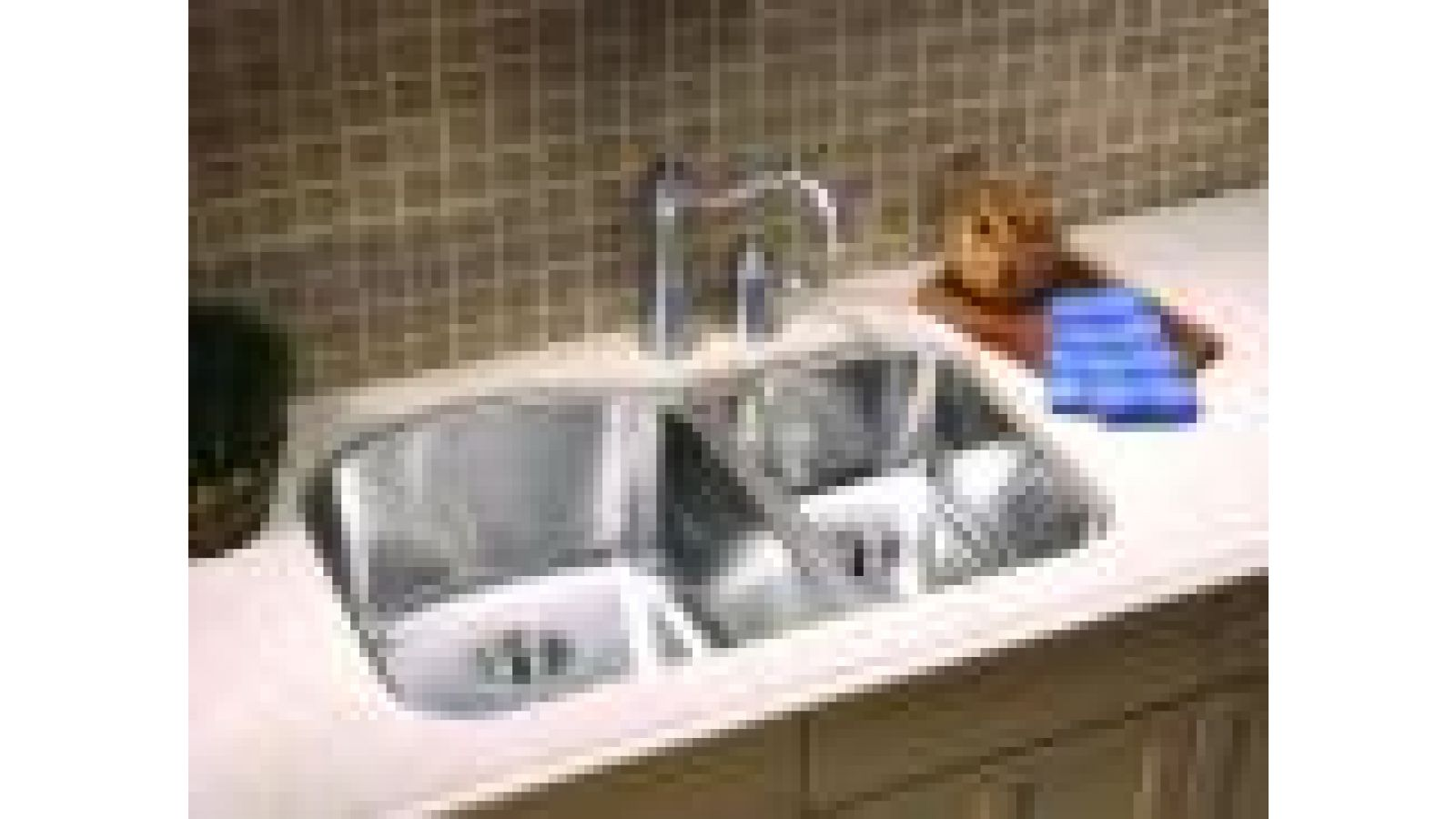 D-Shape Stainless Steel Sink