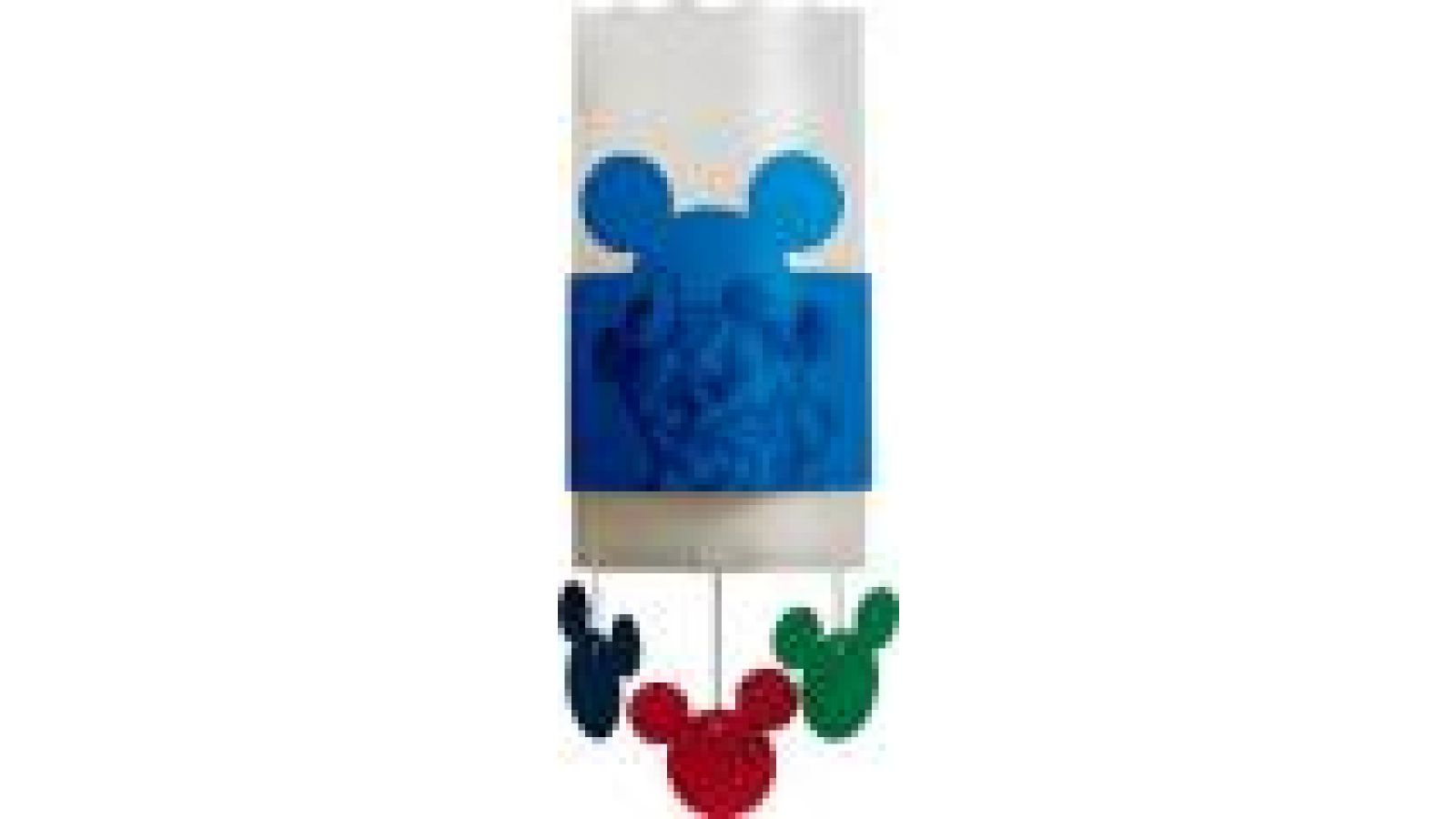 Mickey Mouse Wall Brackets Blue