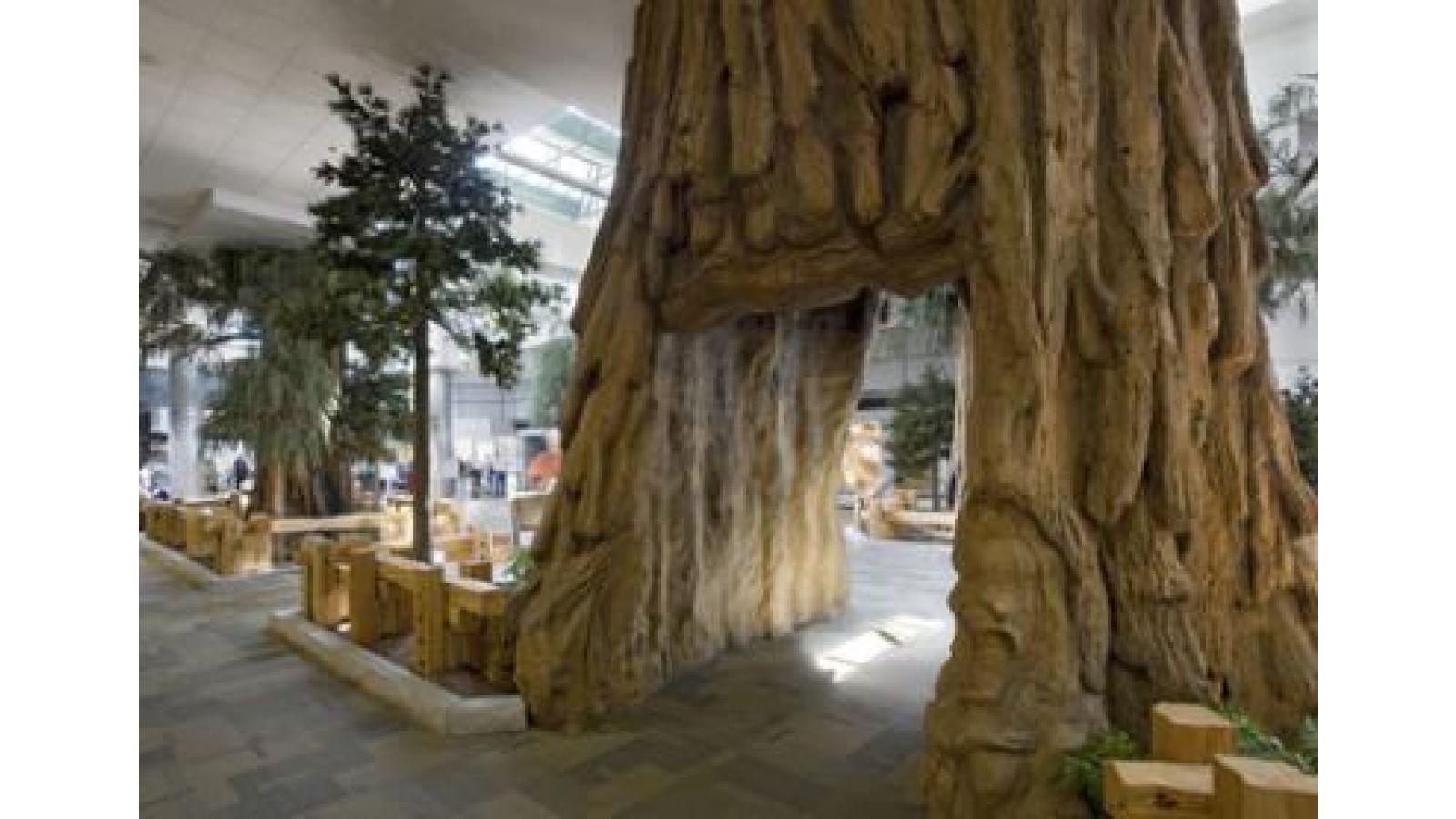 Sequoia-Scape – Airport Terminal