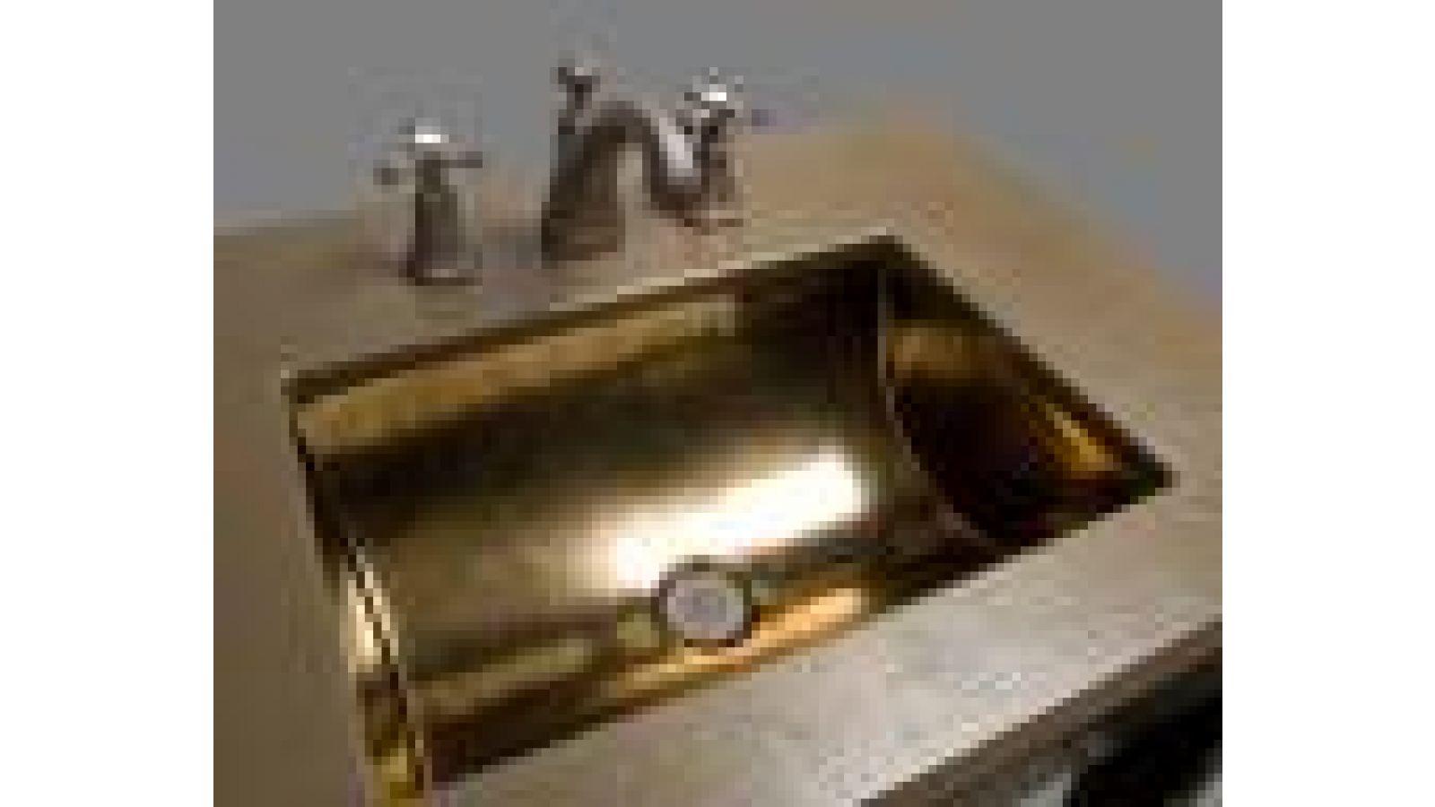 Z Bronze Vanity Top