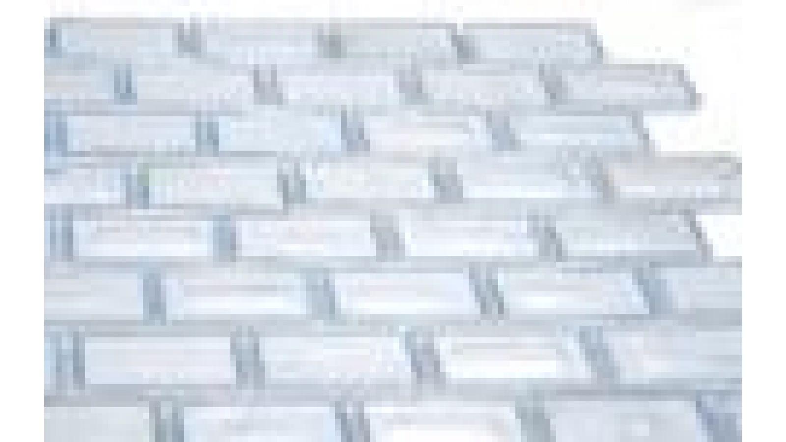 Ashland-e 1x2 Tile - Clear Ice