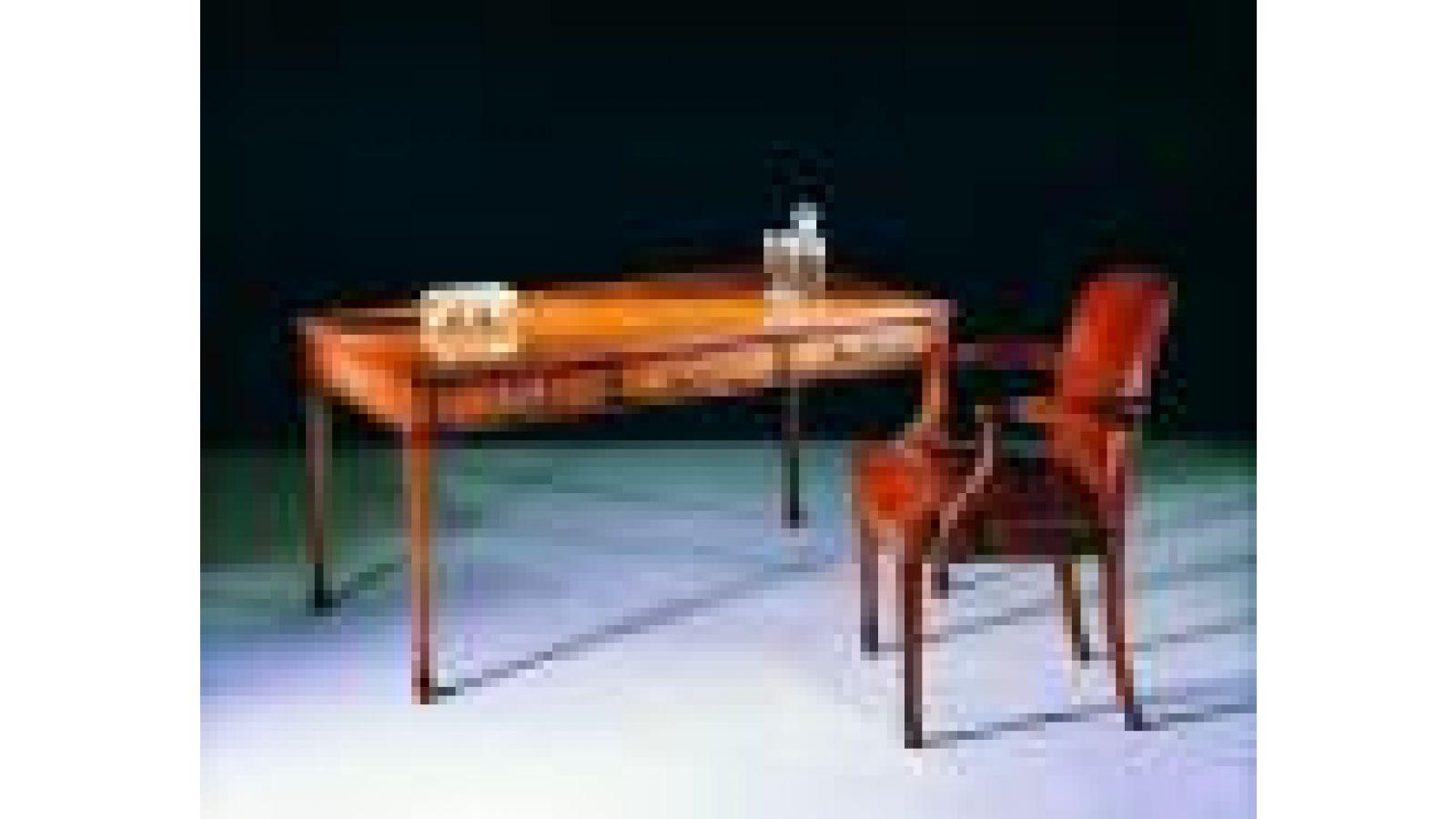 2202 - Sheraton-style ash writing table