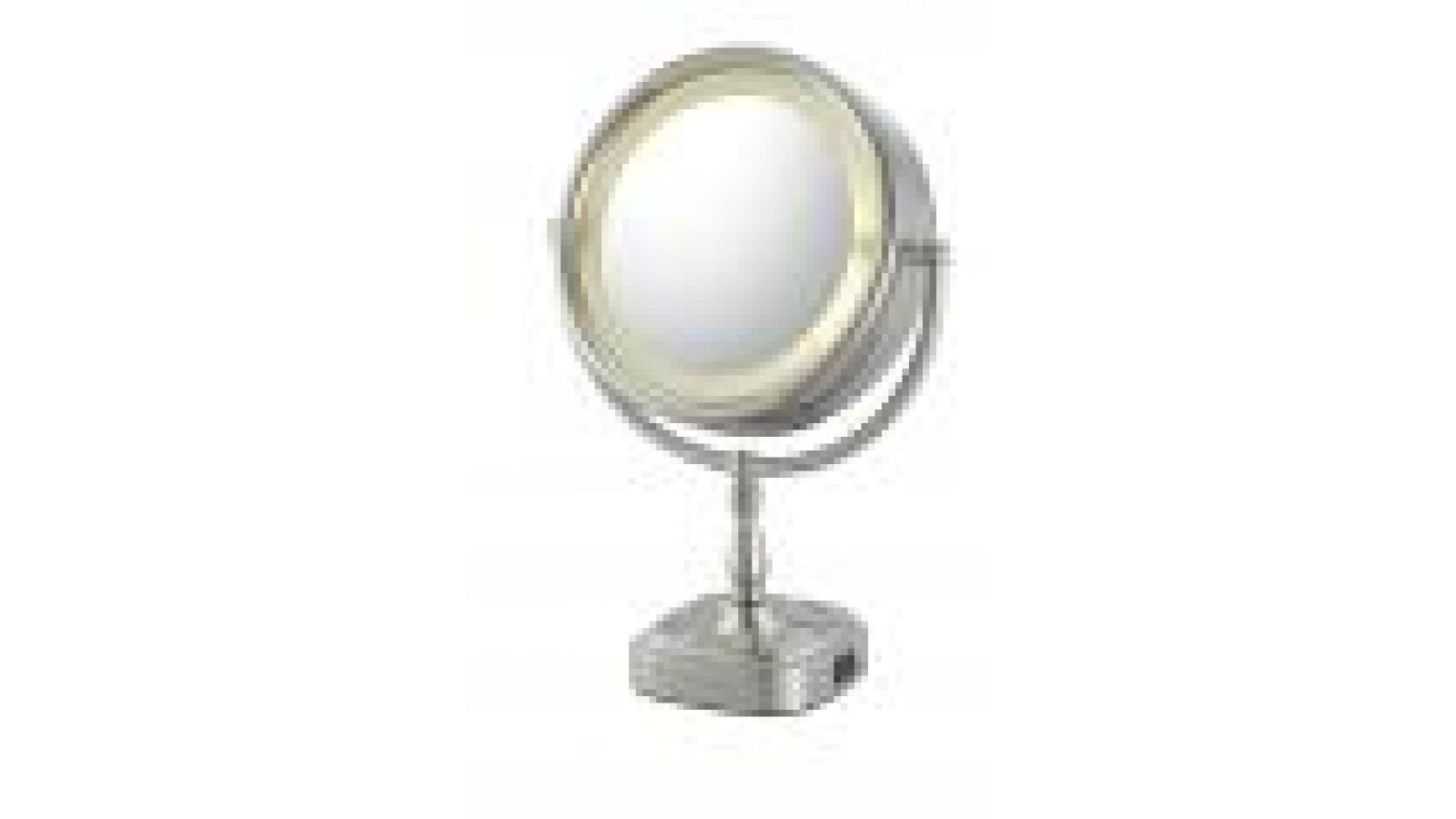 Double-Sided LED Vanity Mirror