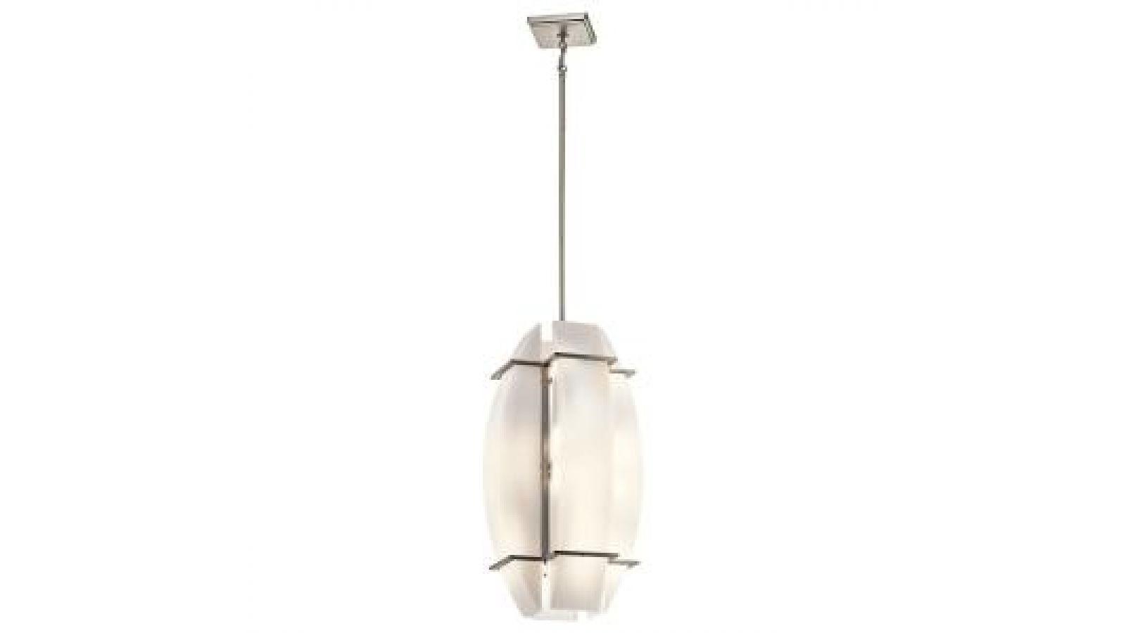 Crescent View vertical chandelier