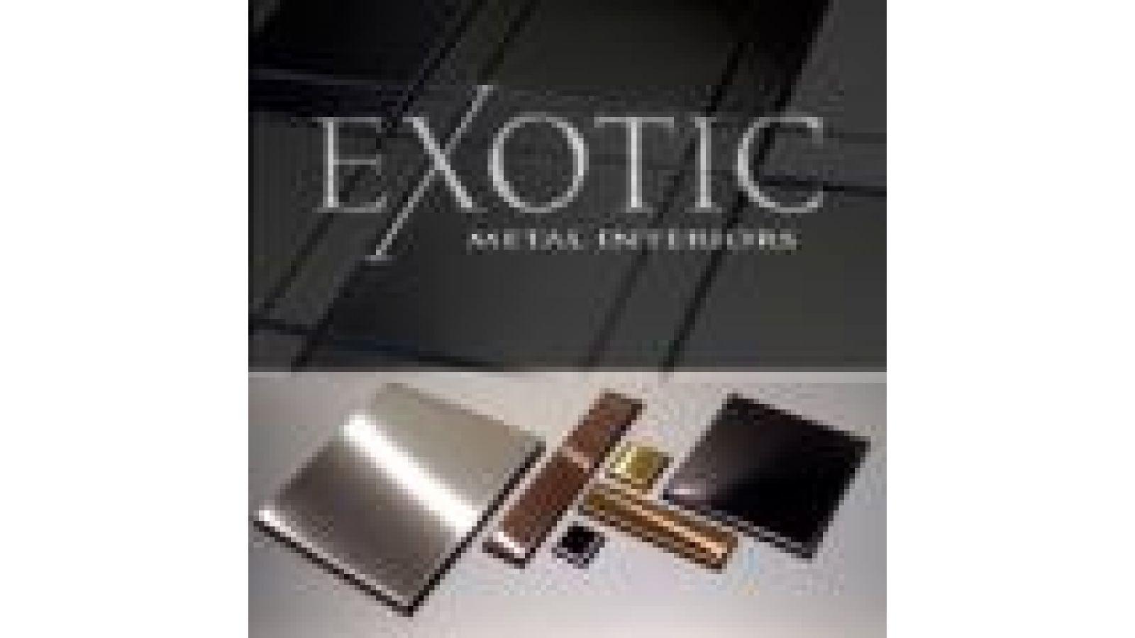 Exotic Metal Wall Tiles