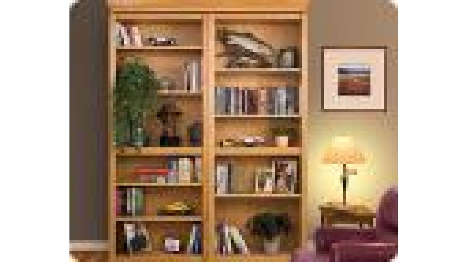 Woodfold Custom Bookcase Doors:
