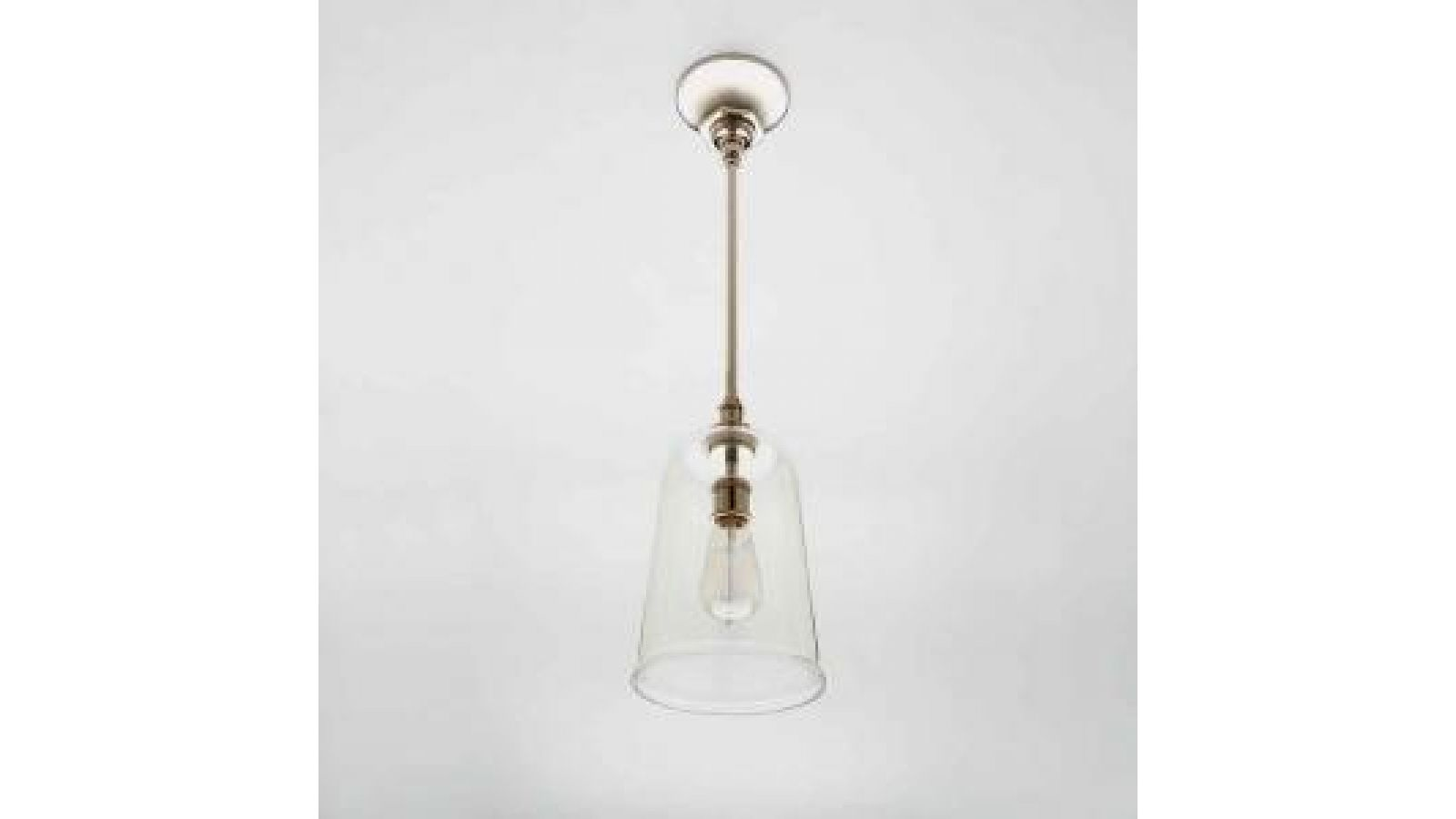 Henry Pendant with Hand Blown Glass Shade
