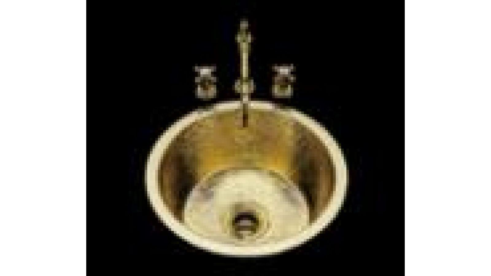 CS 450 Hammertone in Solid Brass