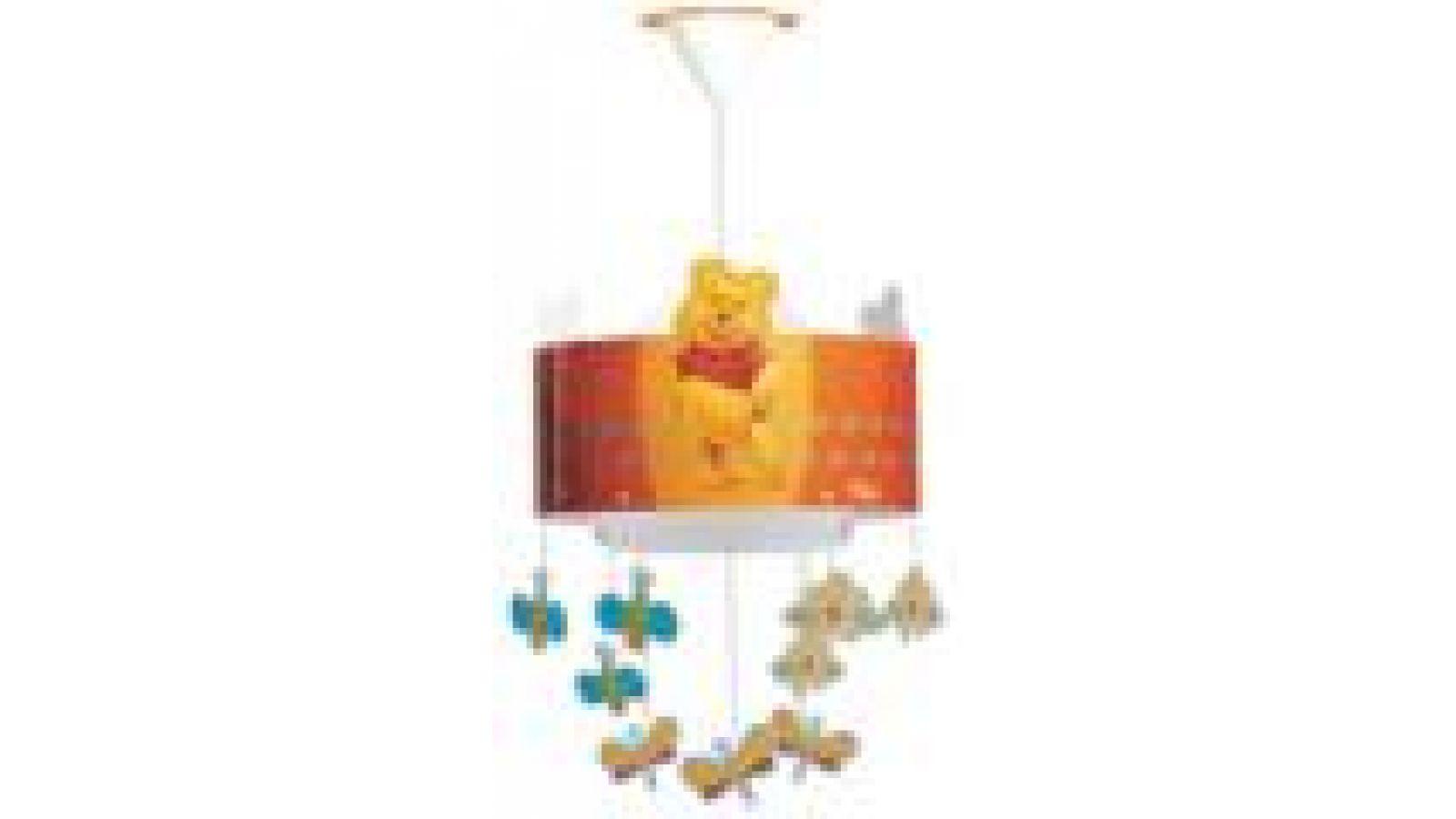 Winnie the Pooh Ceiling Lamp Orange