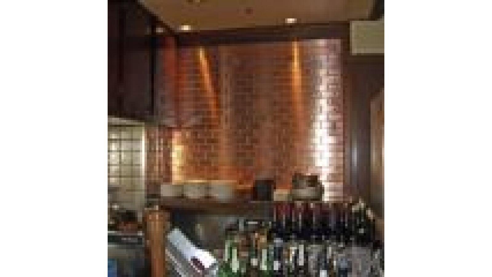Subway Tiles - Stainless Steel, Copper & Titanium
