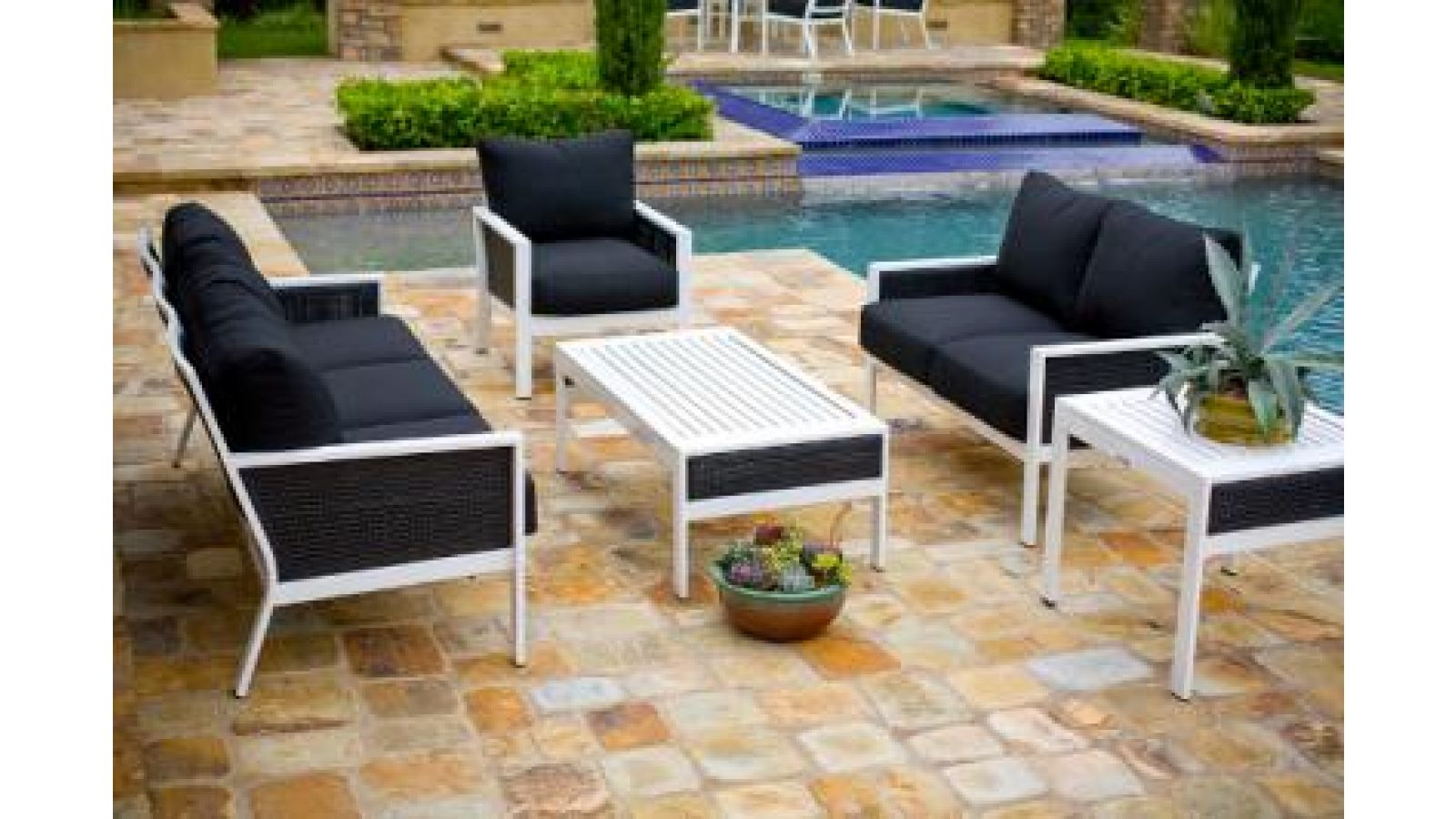 Parkview Woven Deep Seating Group 6753