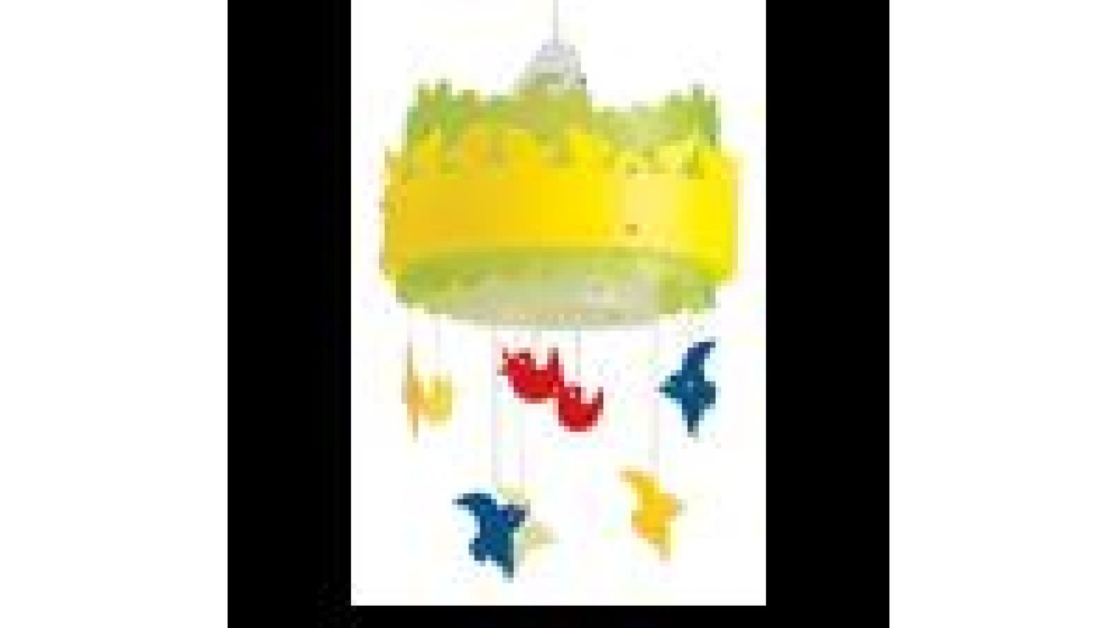 Uccellini Nella Luce Ceiling Lamp Yellow