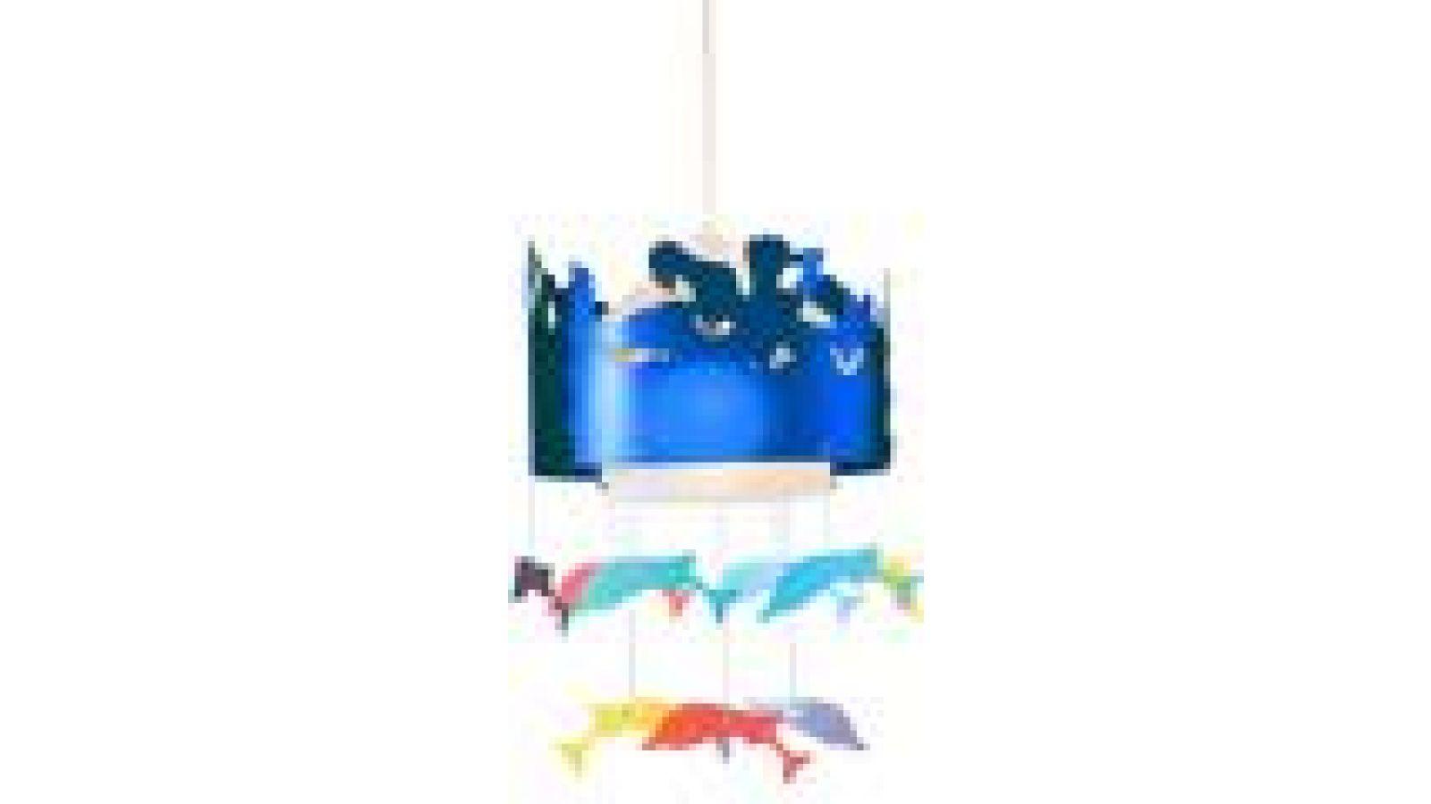 Please Love Me Ceiling Lamp Blue