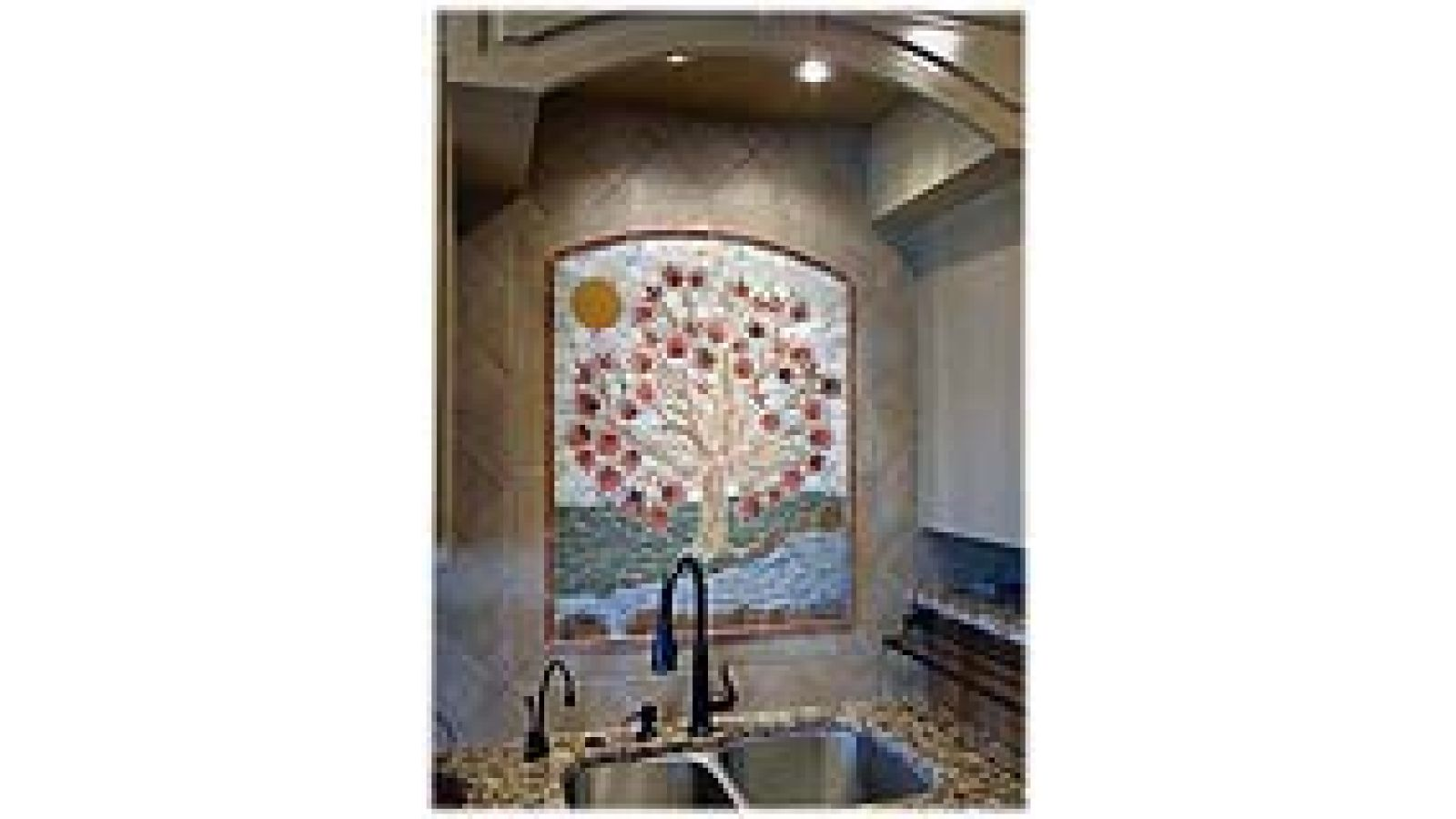 Tree of Life handmade ceramic tile designs